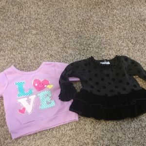 Set of two dress and top size 12 months